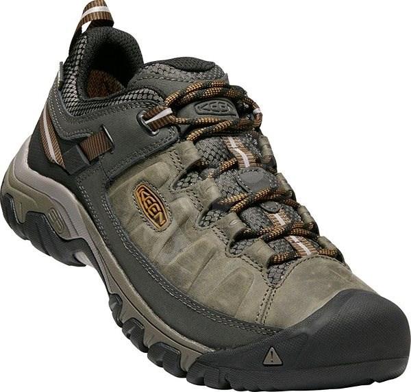 Keen Targhee III WP M black olive/golden brown EU 42 / 260 mm - Outdoorové boty