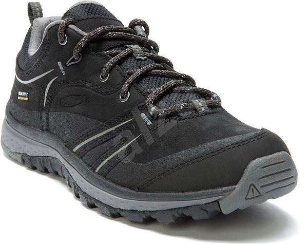 Keen Terradora Leather WP W black/steel grey EU 38,5 / 241 mm - Outdoorové boty