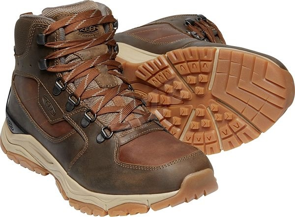 Keen Innate Leather Mid WP M musk EU 47 / 294 mm - Outdoorové boty