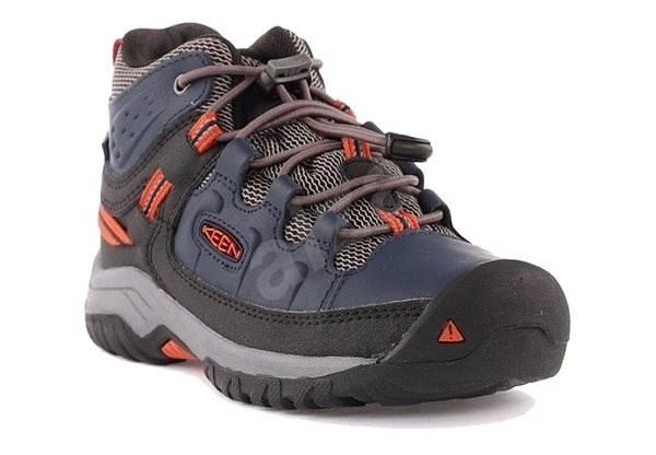 Keen Targhee Mid WP Jr. blue nights/rooibos tea EU 35 / 216 mm - Outdoorové boty