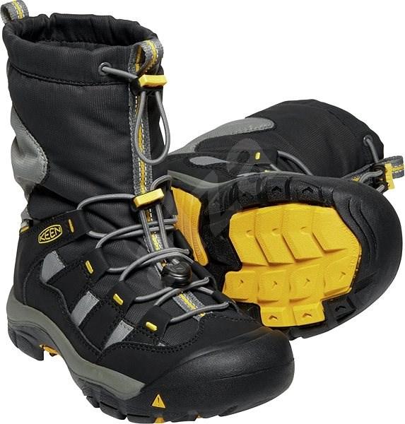 Keen Winterport Jr. Black/Gargoyle EU 39/248mm - Outdoor shoes