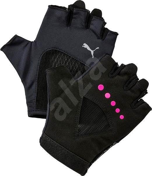 b297ef537d8 Puma Gym Gloves Puma Black-Ultra Magenta vel. S - Rukavice. PRODEJ SKONČIL.  Rukavice fitness vhodné do posilovny