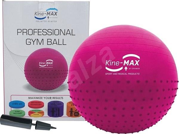 Kine-MAX Professional GYM Ball  - růžový - Gymnastický míč