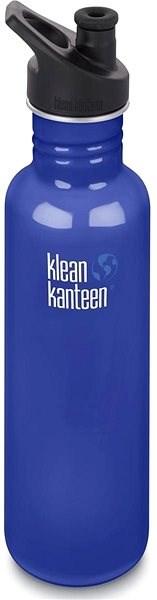Klean Kanteen Classic w/Sport Cap 3.0 - coastal waters 800 ml - Láhev na pití