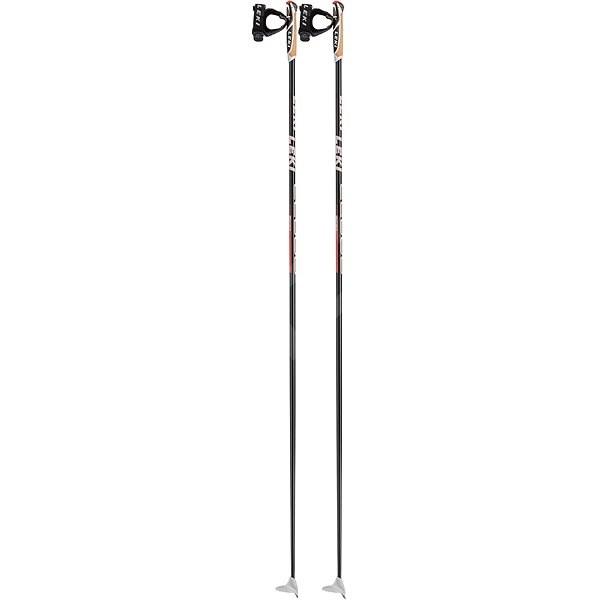 Leki CC 600, black-white-neonred, 145 cm - Běžecké hole