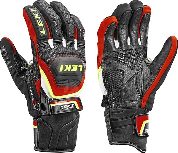 Leki rukavice Glove Worldcup Race Coach Flex S GTX black-red-white-yellow 19fe9f0f71
