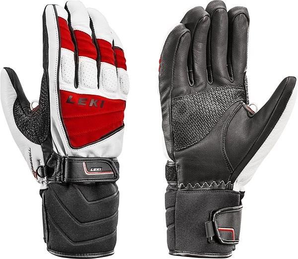 2f2e1c5b57d Leki rukavice Glove Griffin S white-red-black vel. 8 - Rukavice
