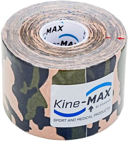 Kine-MAX SuperPro Cotton kinesiology tape camo - Tejp