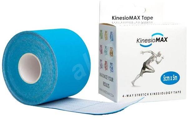Kine-MAX 4Way stretch kinesiology tape modrá - Tejp