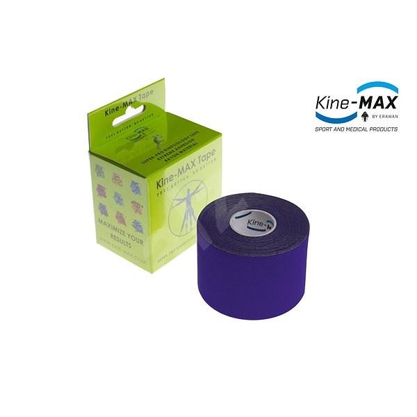 Kine-MAX SuperPro Rayon kinesiology tape fialová - Tejp