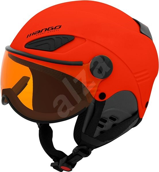 59cab285c3 Mango Rocky Pro oranžová mat - Lyžařská helma