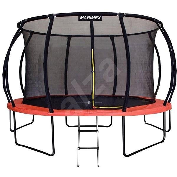 Marimex Premium 457 cm + vnitřní ochranná síť + schůdky - Trampolína