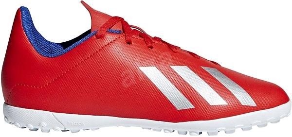 Adidas X 18.4 TF J červená/bílá EU 35 / 212 mm - Kopačky