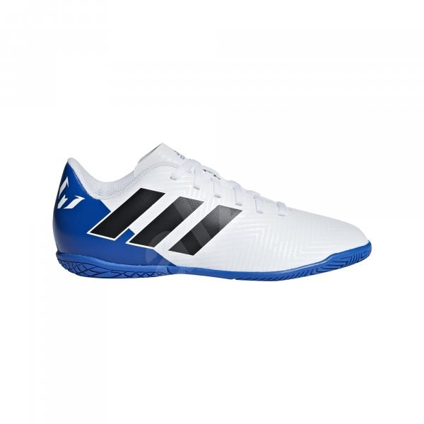 Adidas Nemeziz Messi Tango IN J bílá/modrá EU 35 / 212 mm - Kopačky