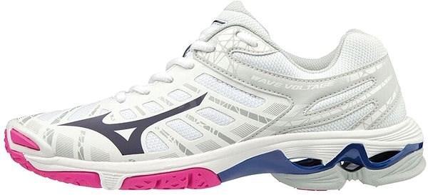 Mizuno Wave Voltage White, size 36 EU / 225mm - Indoor shoes