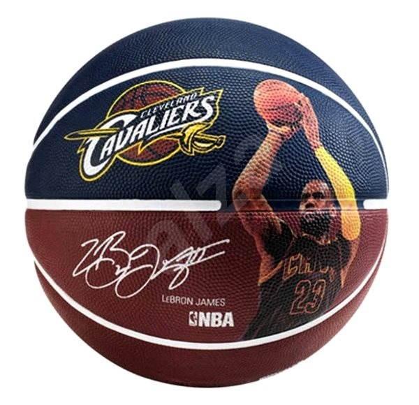 Spalding NBA player ball Lebron James  vel. 7 - Basketbalový míč
