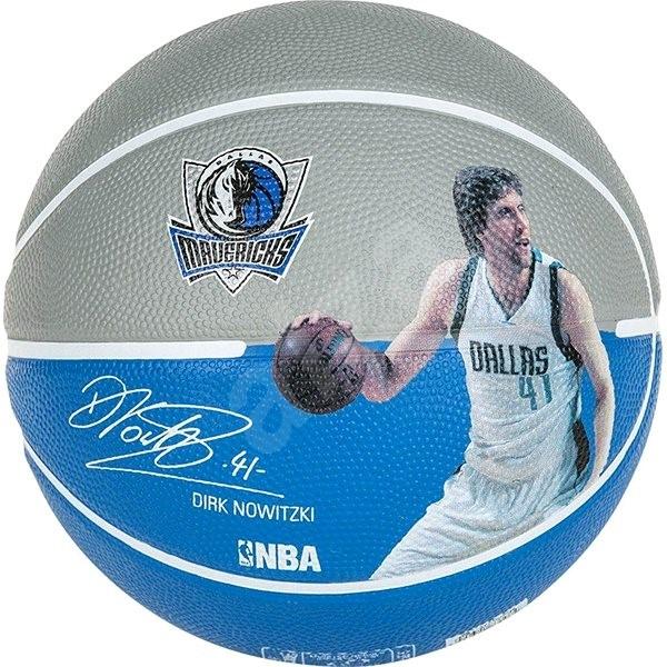 Spalding NBA player ball Dirk Nowitzki - Basketbalový míč
