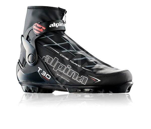 Alpina T 30 Black White Red 40 - Dámské boty na běžky  8582edb018