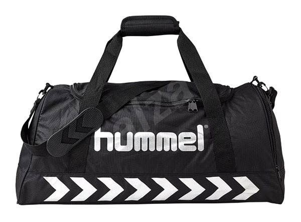 Hummel Authentic Sport Bag Black Silver L - Sportovní taška  e840259808