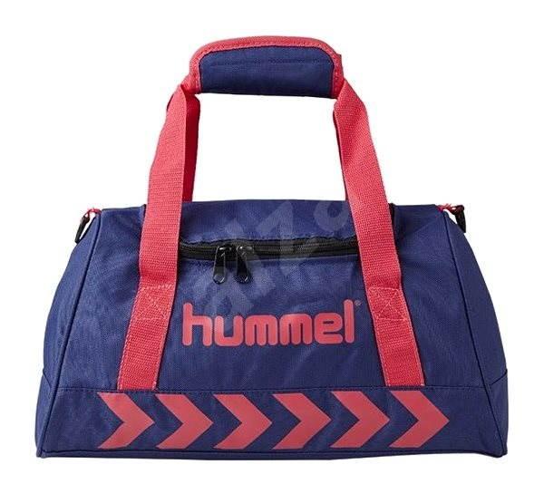 Hummel Authentic Sport Bag Patriot Blue Virtual Pink S - Sportovní taška cefa4652e9