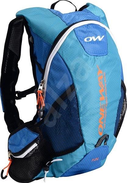 One Way Run Hydro Back 12L Blue-Orange - Sportovní batoh