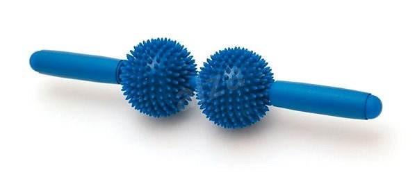 Sissel Dvojitý masážní ježek Spiky twin Roller - Masážní tyč