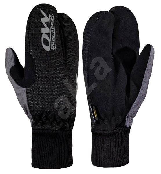 OW Tobuk Lobster Glove Black/Grey vel. 12 - Rukavice