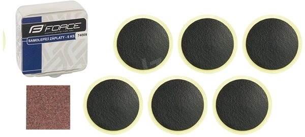 Force lepení - samolepící záplaty,  6 ks - Lepení