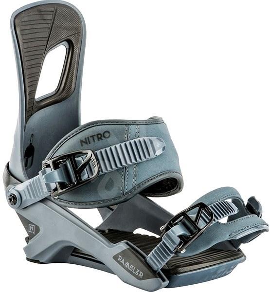 Nitro Rambler Blue Steel vel. L - Vázání na snowboard
