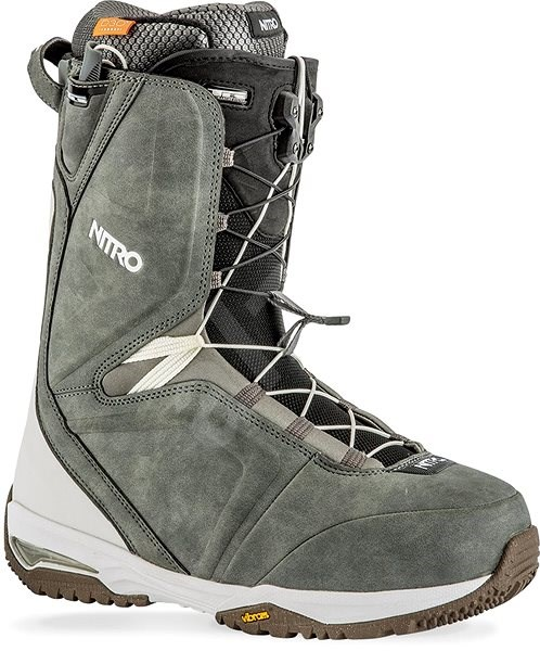 Nitro Team TLS Charcoal - White vel. 42 EU  275 mm - Boty na ... 04afe9d039