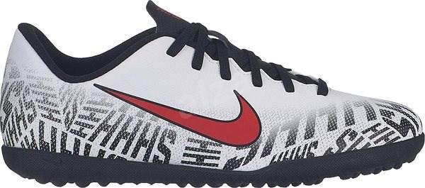Nike JR VAPOR 12 bílá/černá EU 37,5 / 232 mm - Kopačky