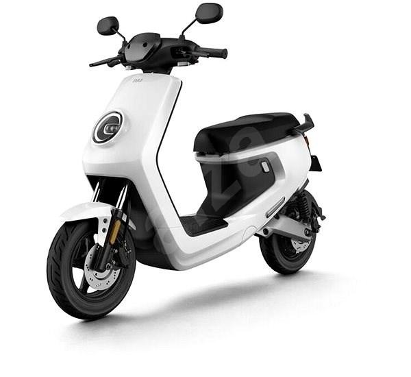 NIU M+ Sport white - Elektroskútr