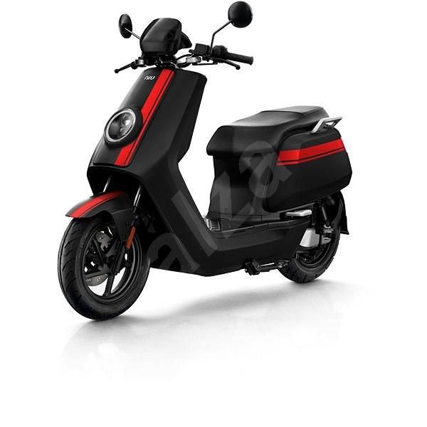 NIU NQi GTS PRO black/red stripes - Elektroskútr