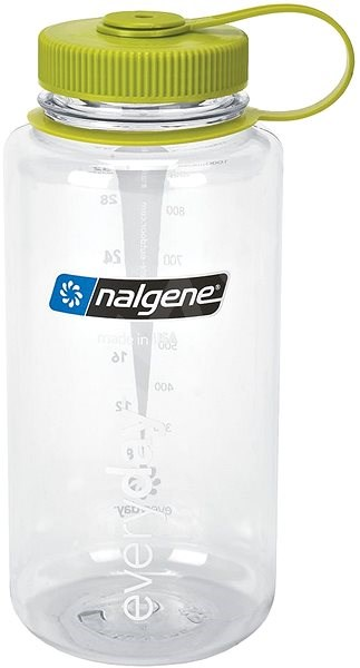 Nalgene Wide Mouth 1000 ml Clear - Láhev na pití