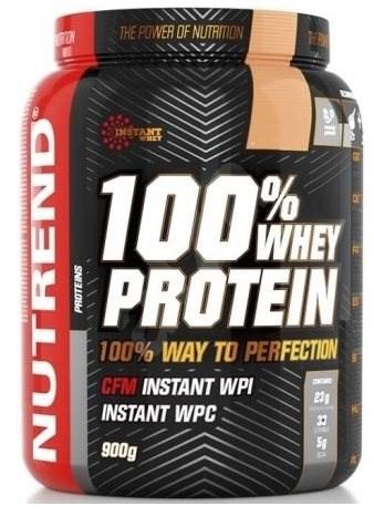 Nutrend 100% Whey Protein, 900g, jahoda - Protein
