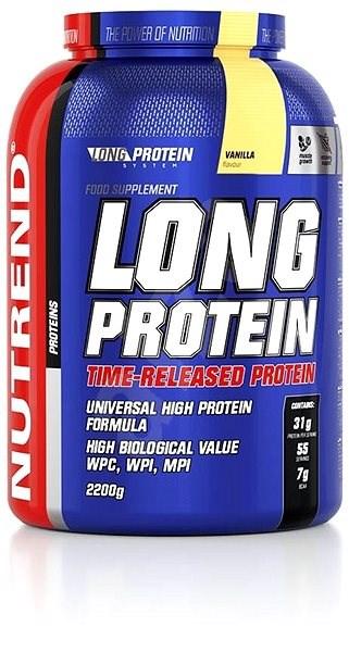 Nutrend Long Protein, 2200g, vanilka - Protein