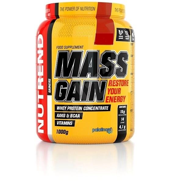 Výsledek obrázku pro Nutrend Mass Gain 1000 g
