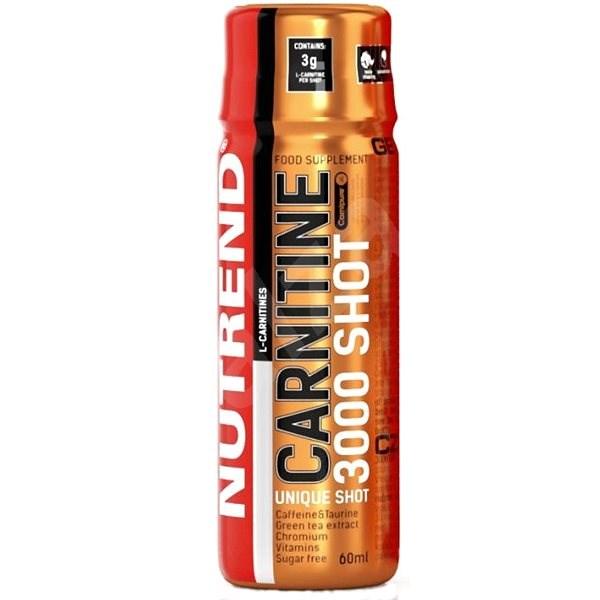 Nutrend Carnitine 3000 SHOT, 20x60 ml, ananas - Spalovač tuků