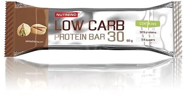 Nutrend LOW CARB Protein Bar 30, 80 g, pistácie - Proteinová tyčinka