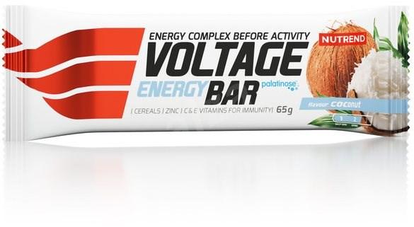 Nutrend Voltage Energy Cake, 65 g, kokos - Energetická tyčinka
