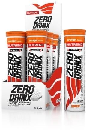 Nutrend Zerodrinx Tabs, 18 Tablet, Pomeranč - Sportovní nápoj