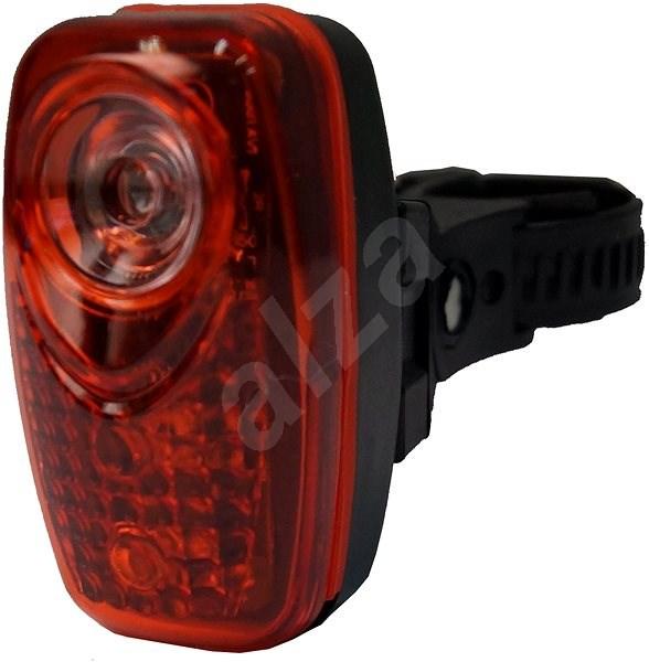 Olpran Světlo zadní  3 super červené LED - Světlo na kolo