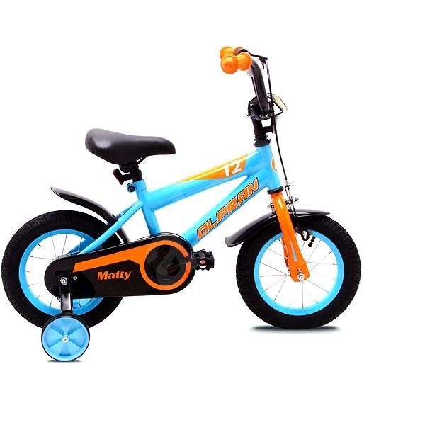 "OLPRAN Matty 12 "", blue / orange - Children's Bike"