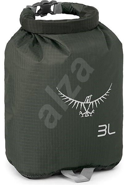 Osprey ULTRALIGHT DRYSACK 3, Shadow Grey - Waterproof Bag