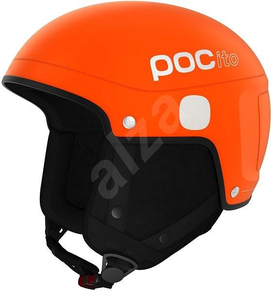 POC POCito Skull Light Fluorescent Orange - Junior ski helmet