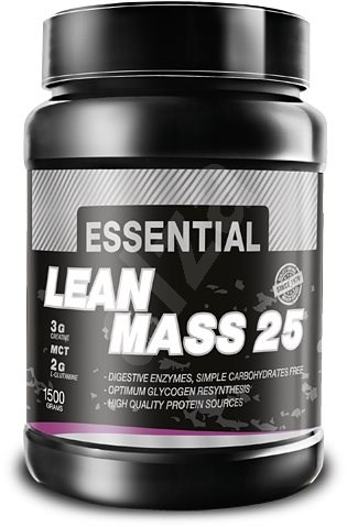 PROMIN Essential Lean Mass 25, 1500g, banán - Gainer