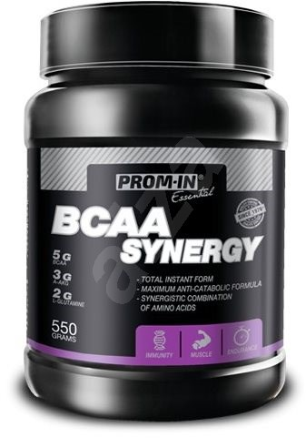 PROMIN Essential BCAA Synegy, 550g, citron, máta - Aminokyseliny