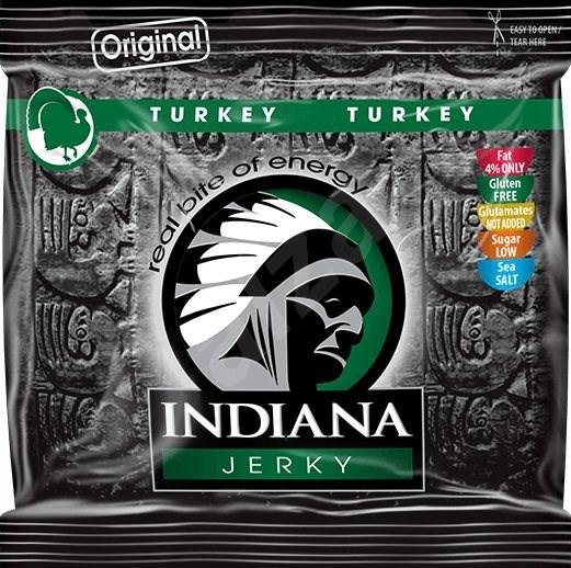 Indiana Jerky turkey Original 60g - sušené maso