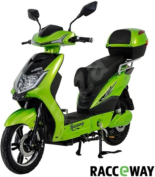 Racceway E-Fichtl, 12Ah, Light Green-Metallic - Electric scooter