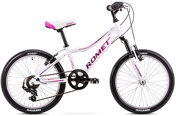 446864eb0 ROMET JOLENE 20 KID 2 white-pink - Dětské kolo 20